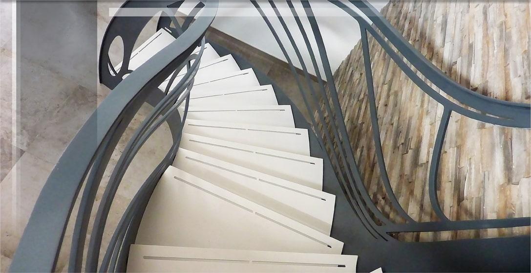 Diaporama Escalier Design Accueil