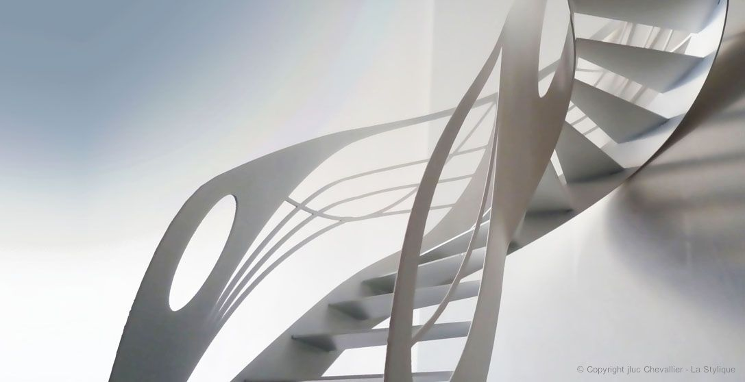 Escalier Design La Stylique Paris